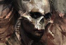 horror paint