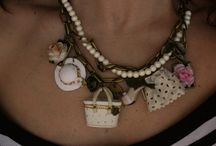 Coquette girl Necklace / info: famousberry@hotmail.com