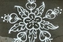 kolam and rangolis