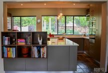 Textured Kitchens / Mixing different finishes in kitchen / cabinetry designs