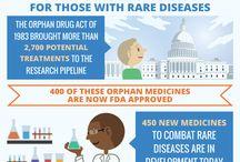 Rare disorders / Pins on rare disorders, rare disease day etc