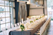 Gray // Weddings + Events / Everything Gray and Lovely for your Special Day!