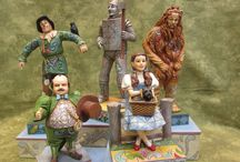 JIm Shore Wizard Of OZ / Figures for  the movie as well as the book! individually priced.