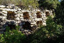 Murs en pierres seches