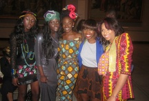 Celebs in African print