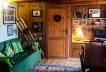 Mirtilli Trilocale di charme / Appartamento Trilocale su due livelli interamente e sapientemente arredato in stile montano. Un vero piccolo rifugio dove passare una vacanza rilassante. Comodissimo alle piste (50m) e ai negozi.