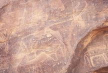 ancient rock art x / by Tina Dixon