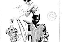 Pin-Up Art by CAZENOVE, G.