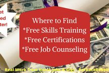 Where to Find Free Skills Training, Certifications, Job Counseling