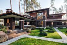 Дома в стиле Райт