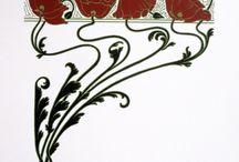 art nouveau/szecesszió / art nouveau