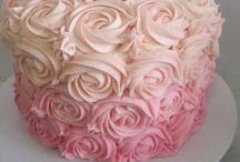 tartas de flores