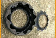 tyre flower pot