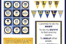 Cub Scouts - Blue and Gold / by Jen Bodell