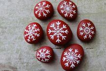 Holiday/Winter Rock Painting Ideas