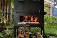 Outdoor oven & fire