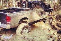 big tires mud!