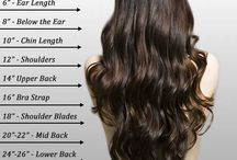 Hair chart / Ideas on how long you want your hair