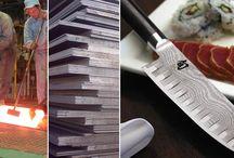 """Acciaio giapponese clad steel / Caratteristiche dell'acciaio laminato in multistrati """"clad steel"""" - Maggiore durata del tagliente - Maggiore resilienza - Migliore resistenza alla corrosione - Facile lavorazione anche dopo il trattamento termico - Miglioramento della resa estetica"""