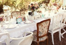 Anything But Ordinary Here / Alice In Wonderland inspired wedding