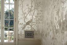 роспись стен - wall painting - murals / Художественная роспись стен, мебели и по стеклу