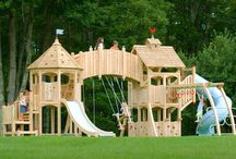Outdoor Playroom, Play-sets, Play houses, Tree houses, Etc.