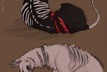 dark animal