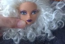 BJD doll and Monster High Stuff / Clothes ,hair , accessories for monster high dolls