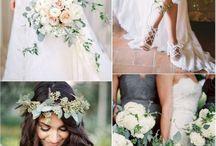 Bröllopsbukett