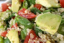 Салаты со шпинатом