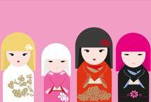Kimmi Doll/ Kokeshi Dolls / ♥ Dolls
