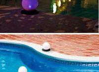 And for Summer, Special Solar Lights / Solar lights are great year round, but some are just made for summer.  Examples include decorative lanterns, solar tiki torches, and our favorites, floating solar lights!
