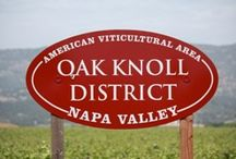Napa Appellations - AVA / Collection of signs designating some favorite Napa Valley Appellations
