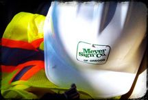 Meyer Sign Company / by Meyer Sign Co. of Oregon
