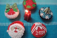 Christmas cup cake ideas