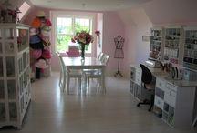crafty & studio spaces i love