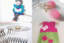 British Crafters Treasuries on Etsy / Treasuries created by members of the Etsy British Crafters Team!