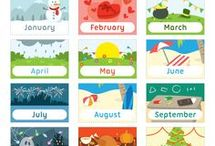 AJ months of the year