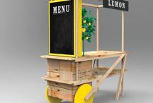 Wood FoodCart