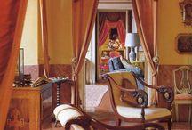 - Verhoasetelmat - Curtain arrangement -