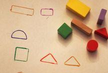 Montesorri / Montesorri aktiviteter tilpasset barn fra nyfødt til ungdomsskole.