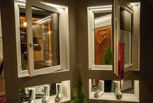 Pvc door window showroom