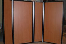 Acoustic Screens / A collection of movable acoustic screens, for variable tuning of your performance/recording space.