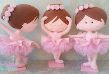 Feltro Bailarinas