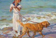 1) Figurative - Children paintings / Inspiration