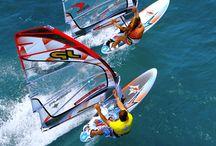 windsurfing. ...