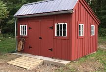 New England Salt Box Shed