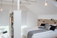 Loft bedroom / Home