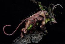Skaven Miniatures / Galerry of SKaven Minitures from Warhammer FB. Someday I'll be able to paint like this...