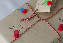 Christmas  Reindeer wrapping papper